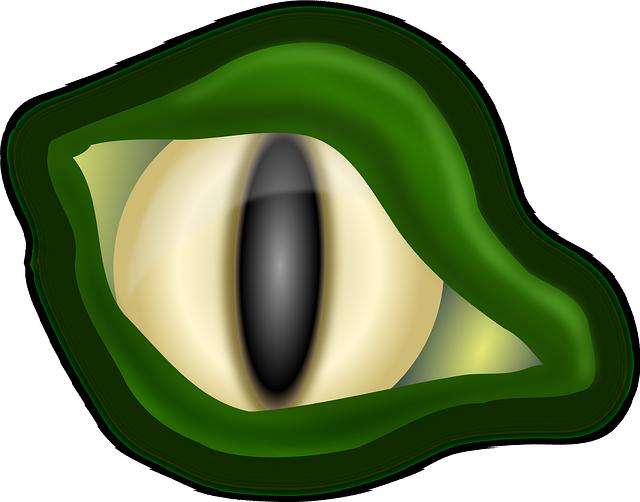 Free Image on Pixabay - Alligator, Crocodile, Eye, Green ...