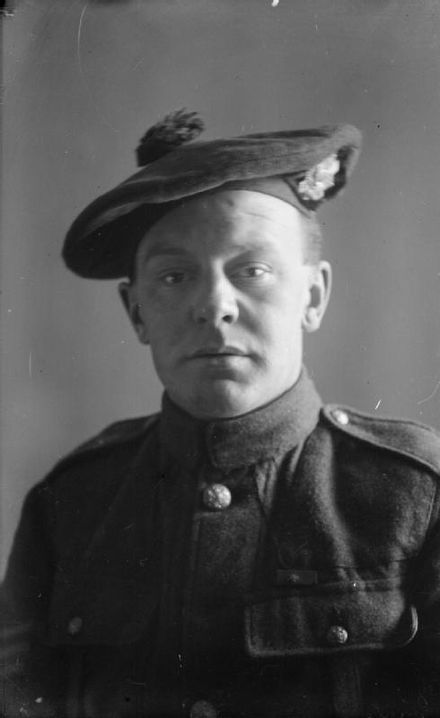 Sgt David Ferguson Hunter VC 5th Bn HLI 16/17th September 1918 Moeuvres France WWI