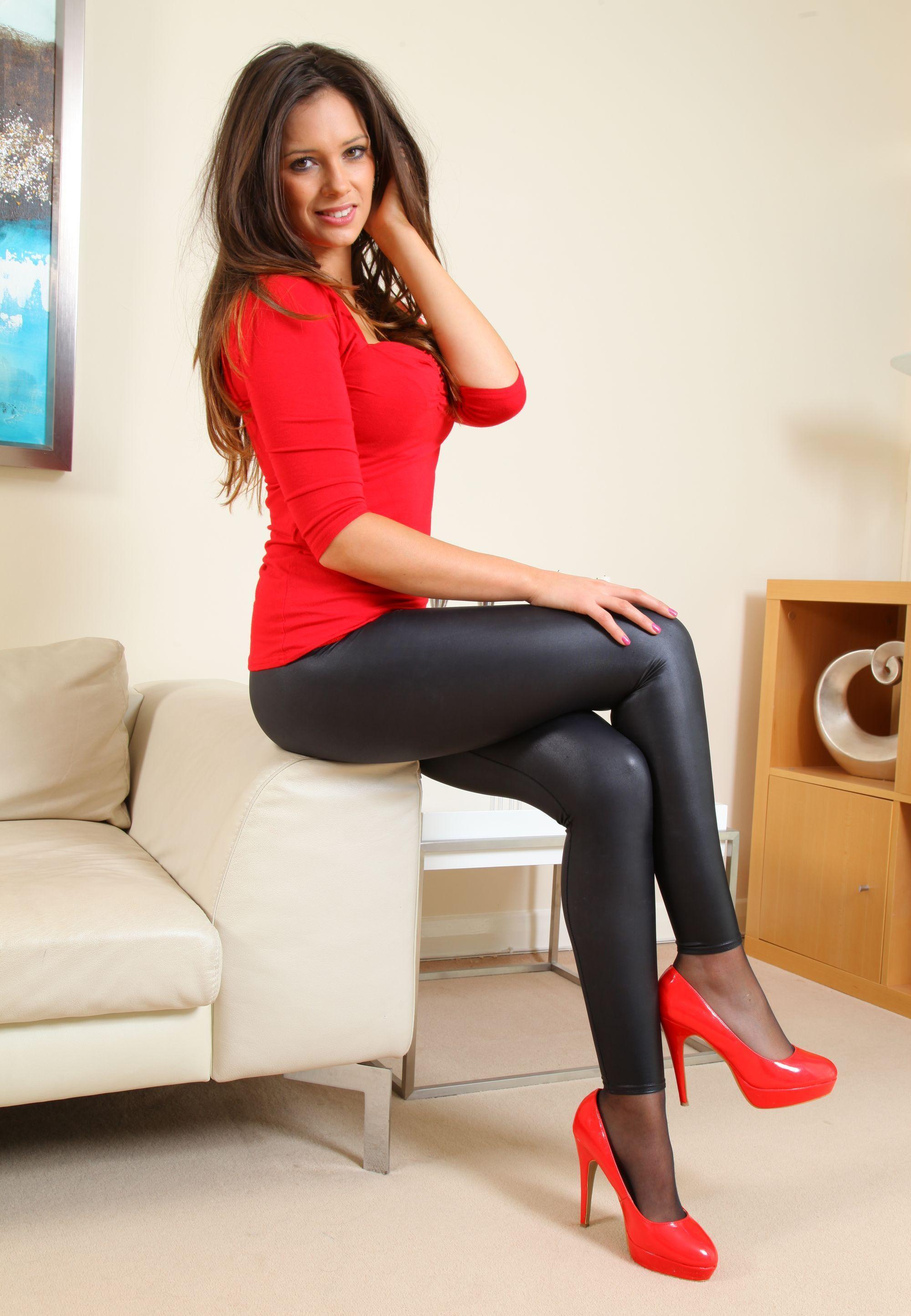 Milf en leggins color hueso - 5 1