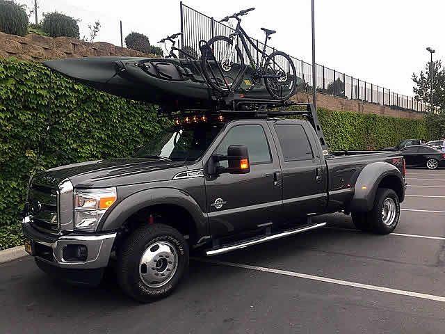 The 5th Wheel Heavy Duty Truck Rack Heavy Duty Truck Kayaking