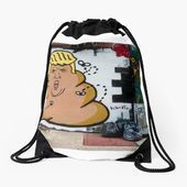 YOUR FIRED ! Drawstring Bag Designed by Enoshdesigns $30.30  YOUR FIRED !  Draws...