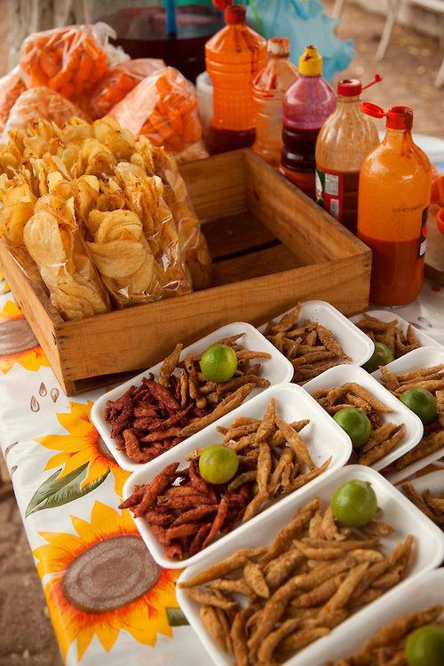 ce4b03538 SNACKS , LOS CHIPS EN BOLSITAS ES UN SI! | Fiestas | Fiesta mexicana ...