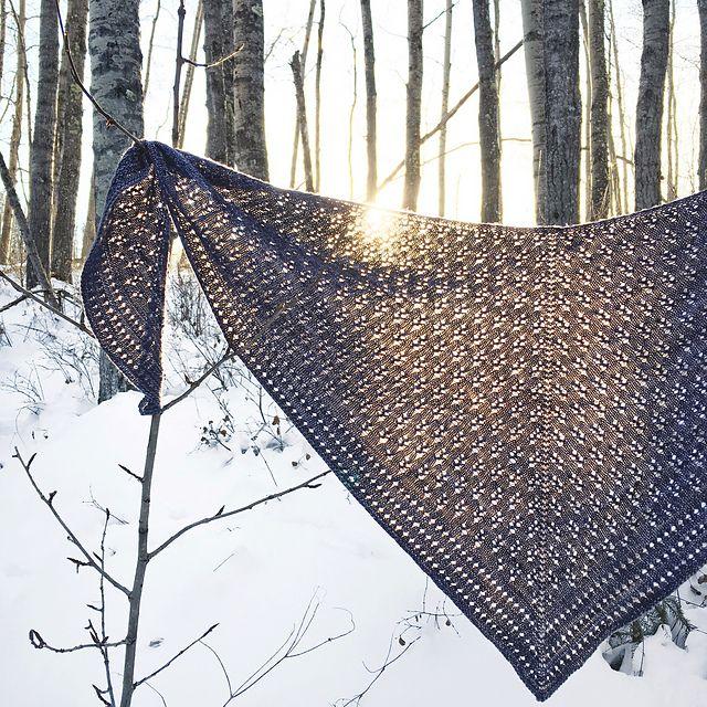 Rainstorm Shawl pattern by Finknits | Cuellos tejidos, Chal y Tejido