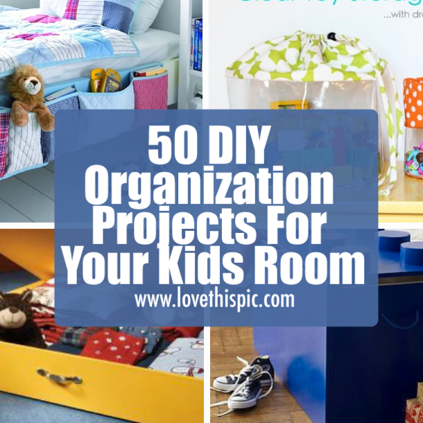 In This Blog, We Have Some Clever And Neat Ways For You To Organize Any Kids  Room.