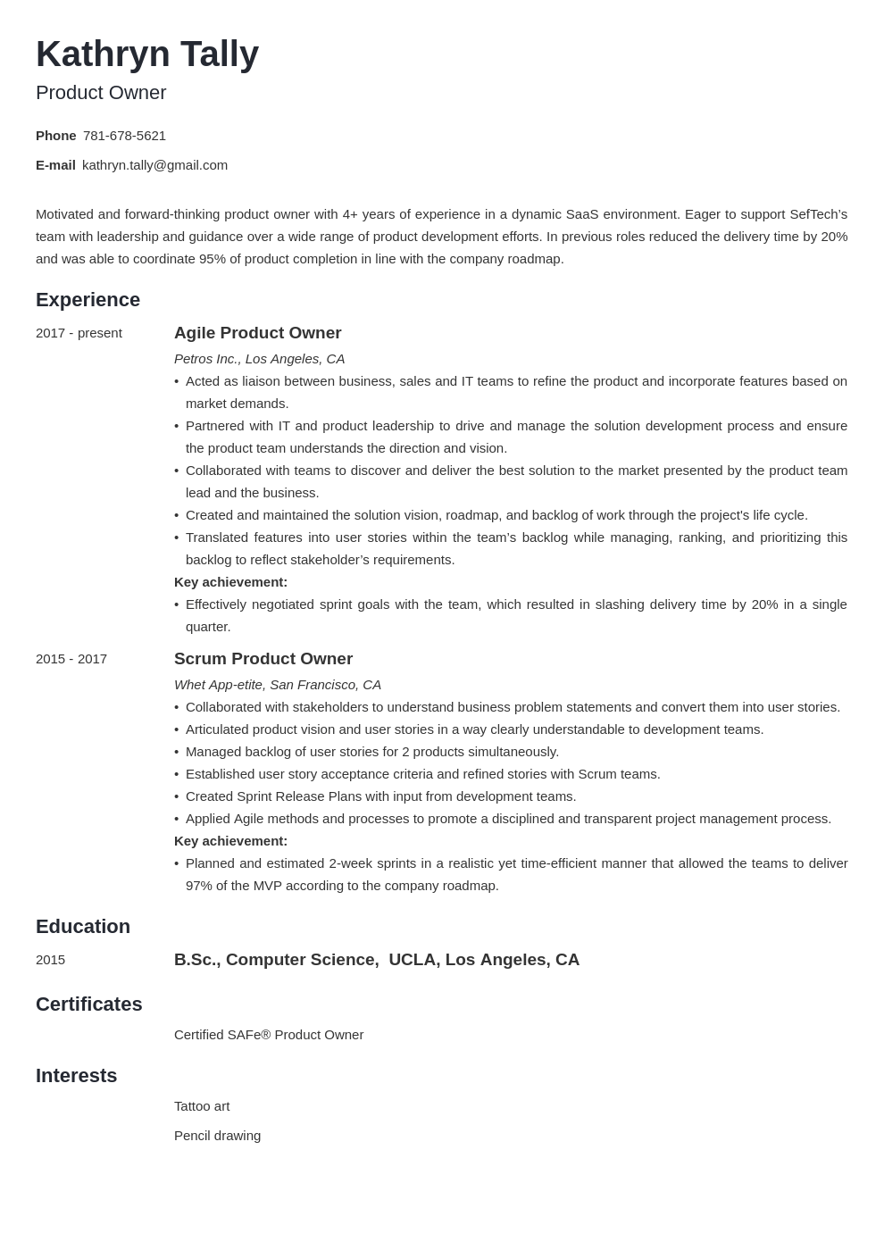 Pin On Resume Examples