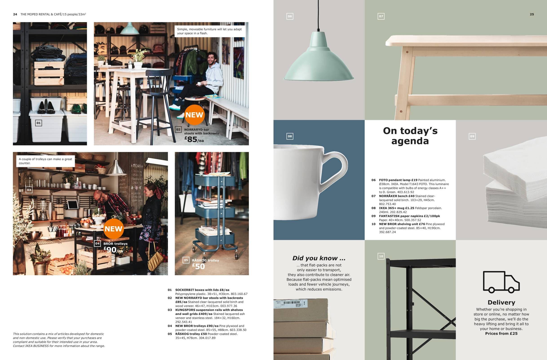 The Tea Room Ikea Business Brochure 2019 Cafe Business