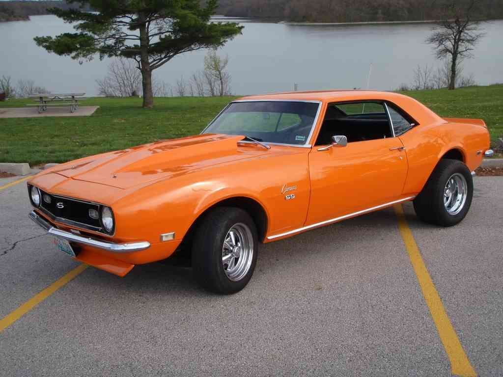 hight resolution of 1976 chevy camaro orange 1968 chevrolet camaro ss picture exterior