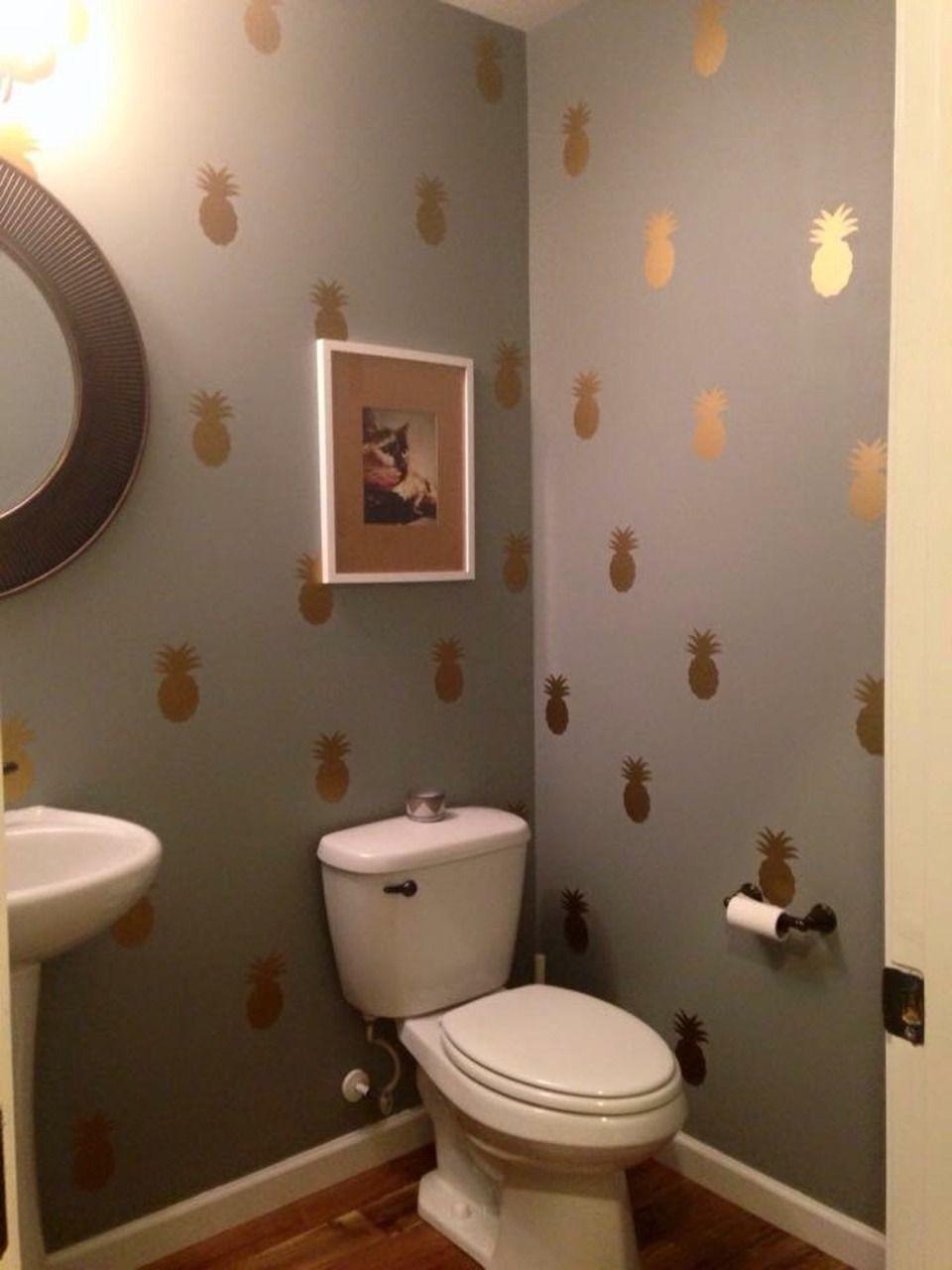 Pin On De Todo Un Poco Pineapple bathroom wall decor