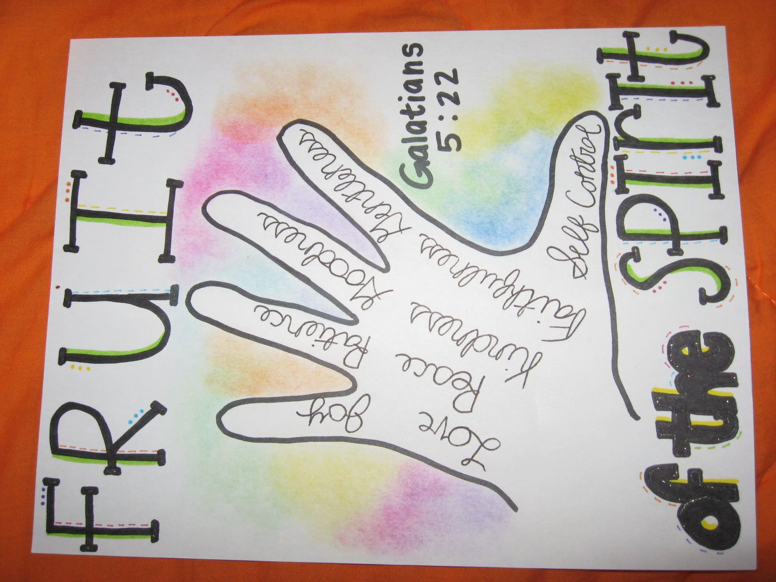 Also Cute To Use The Childrens Hands For Tracing And Then Adapting This Idea For The Verse