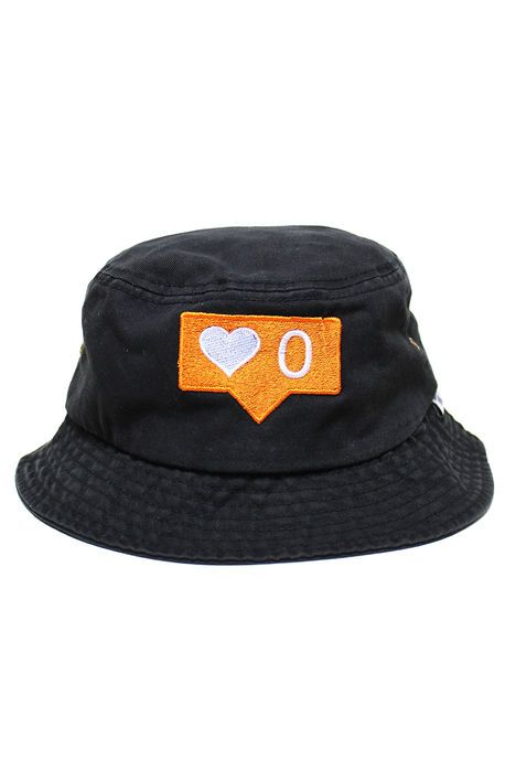 5ca7f9e6413 No Love Bucket Hat in Black by 1st Class