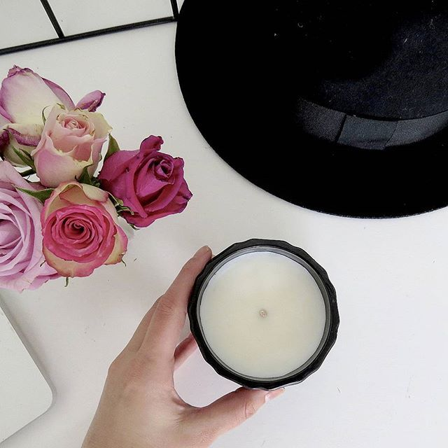 Our ever popular matte black geometric candle. Perfect present for that person who has everything! 📷 and styling by @onthedecorativefringe #INCAcandles  www.inca101.com.au