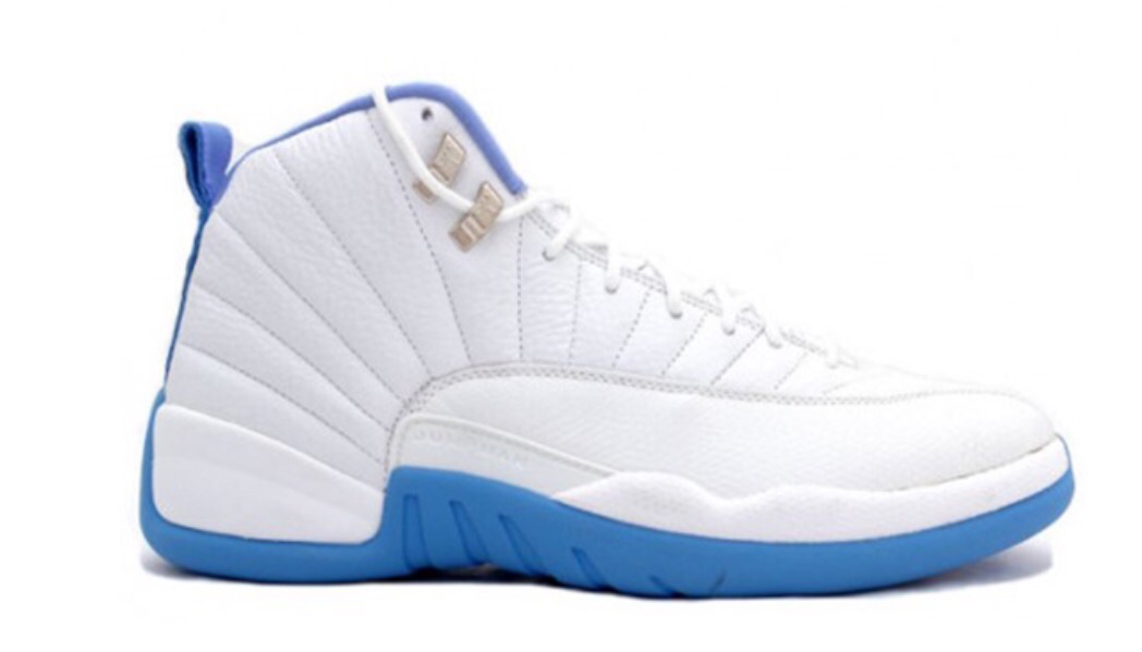 19996ab26d263c Air Jordan 12 Retro  University Blue   Melo  GS