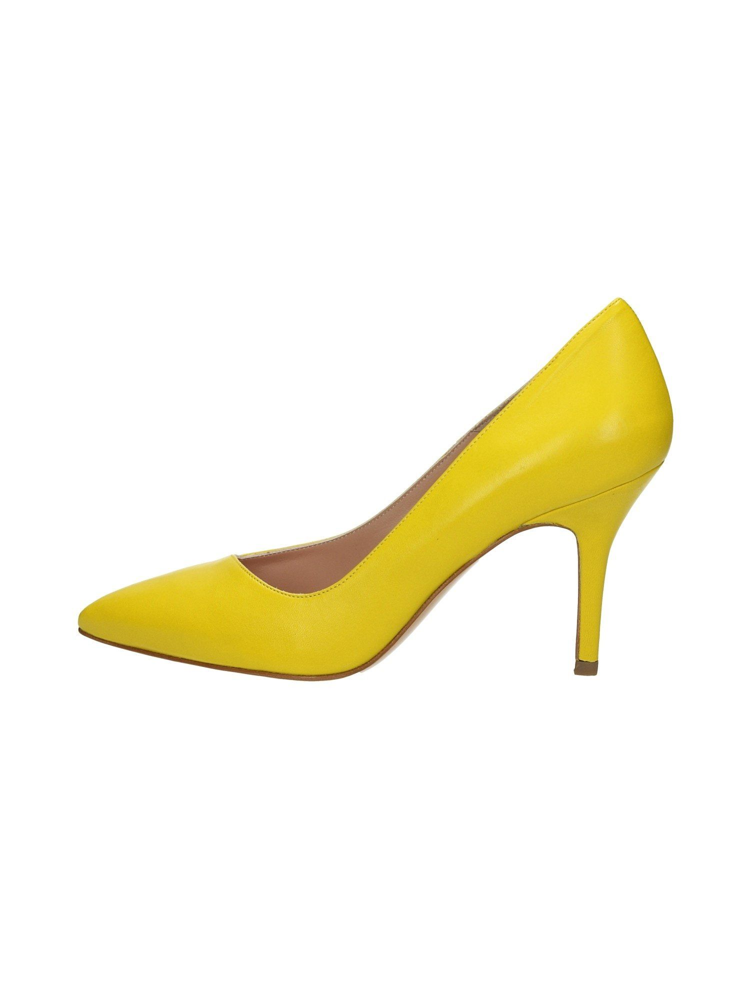 b5e5731e96f Broccoli Q83 High Heels Yellow, Size 6 UK: Amazon.co.uk: Shoes ...
