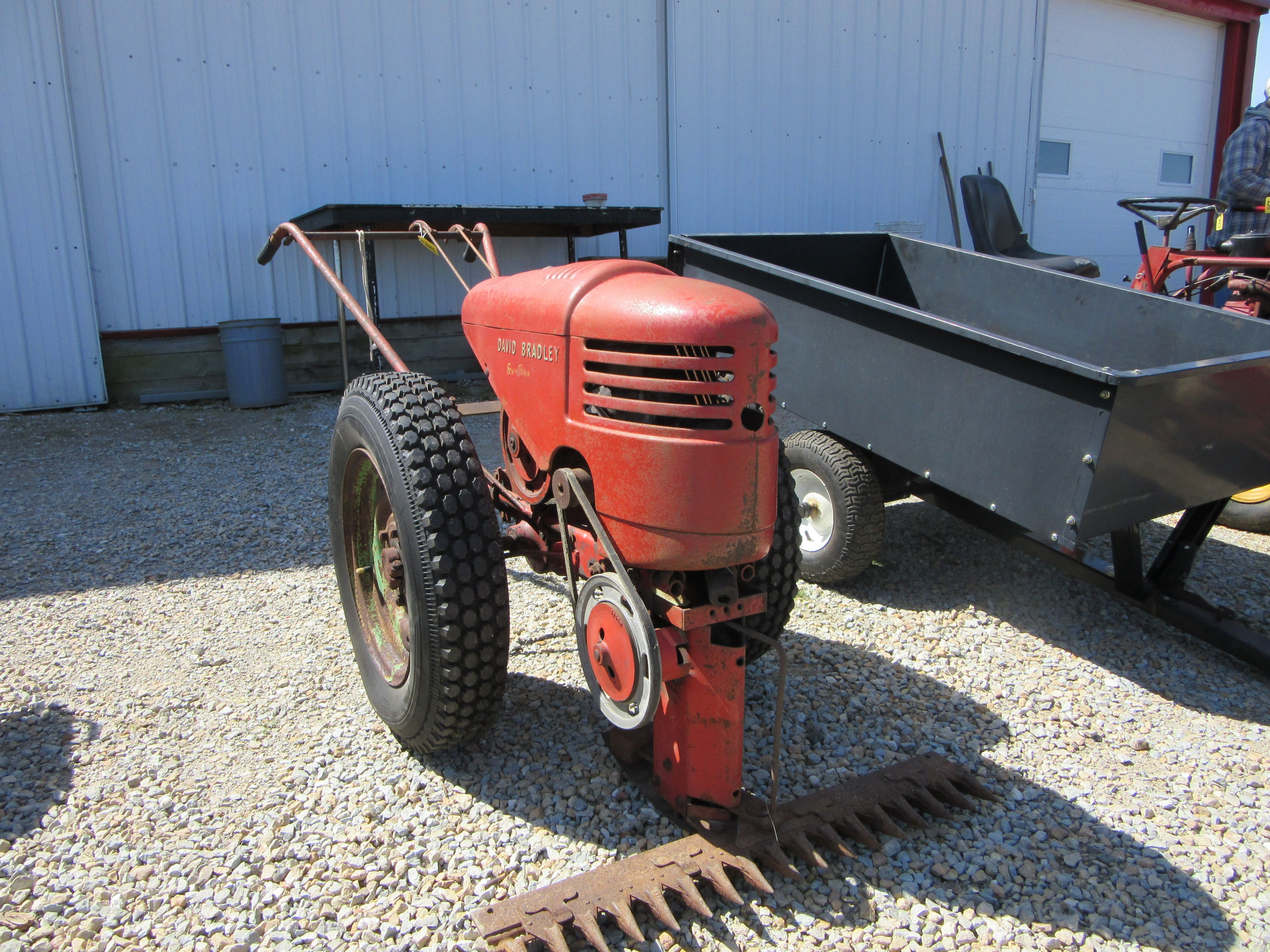 David Bradley mower cutter Tractors Pinterest