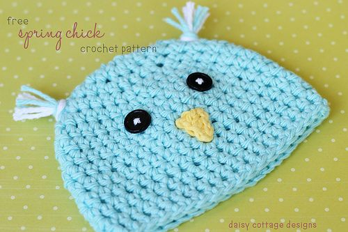 Crochet Hat Pattern {Spring Chick Hat | Cottage design, Crochet and ...