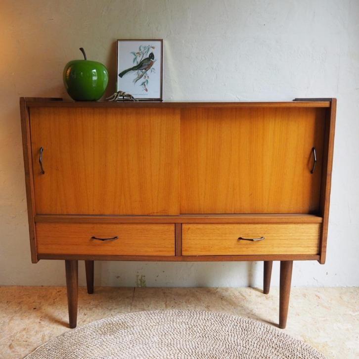 Vintage design Dressoir - Stylish Lowboard Retro Kastje | huis ...