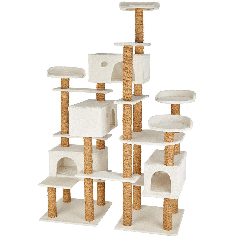 Finde den richtigen Katzenkratzbaum für große Katzen | Cat ...