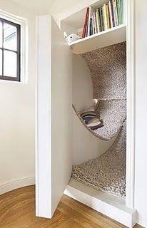 Woolly secret room
