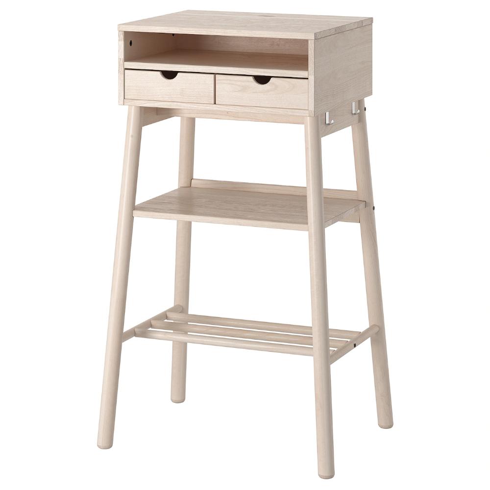 Knotten Stehtisch Weiss Birke Ikea Deutschland In 2020 Ikea Standing Desk White Desks Standing Desk