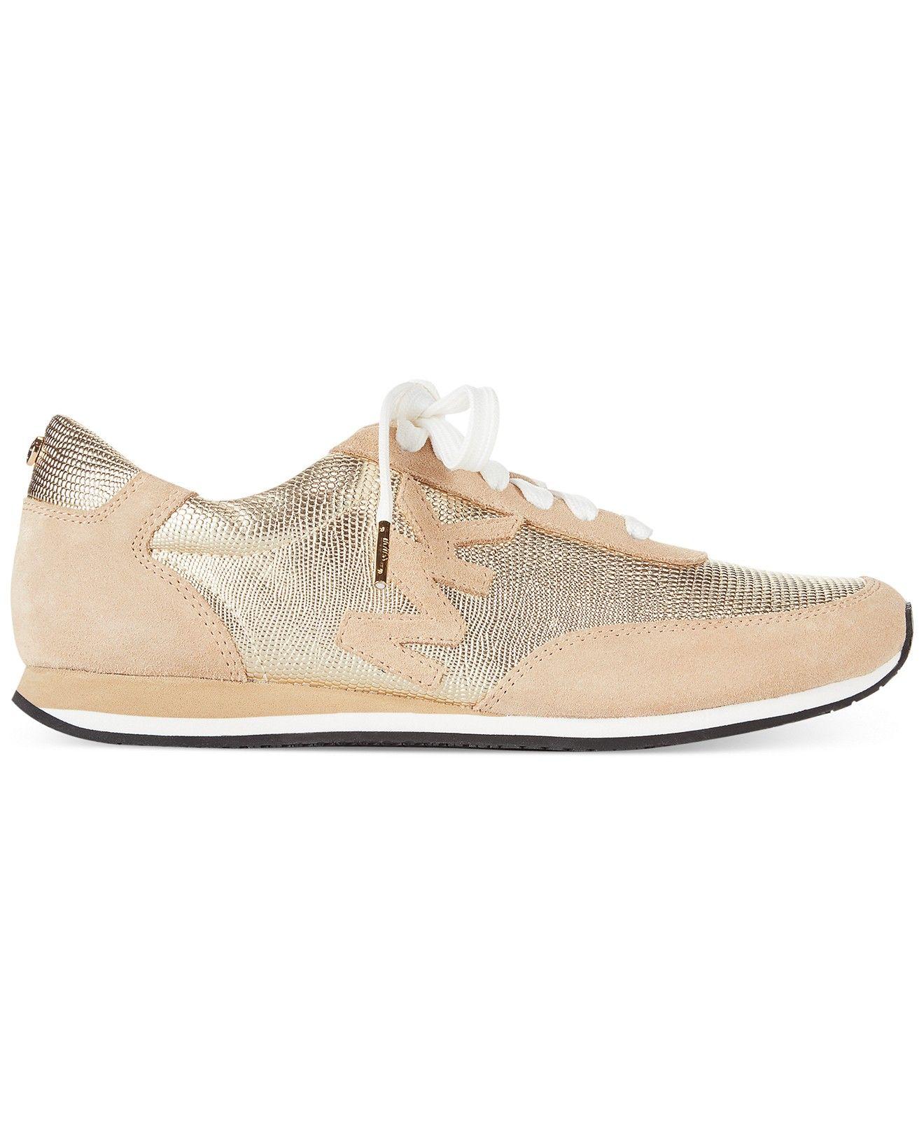 daaec36b97c6 MICHAEL Michael Kors Stanton Trainer Sneakers - Shoes - Macy s ...
