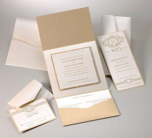 keisha gate fold invitation by platinum tiara weddings pinterest