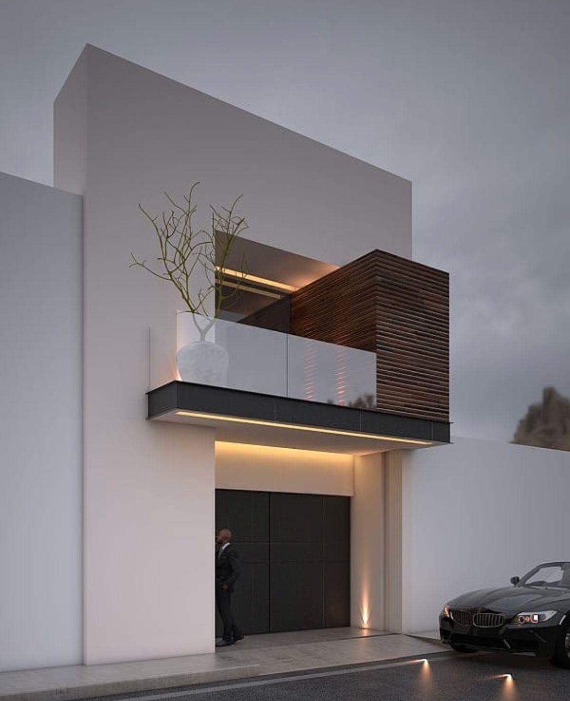 Home Exteriorstone Design Ideas: Fachadas Minimalistas Modernas Exterior Casas