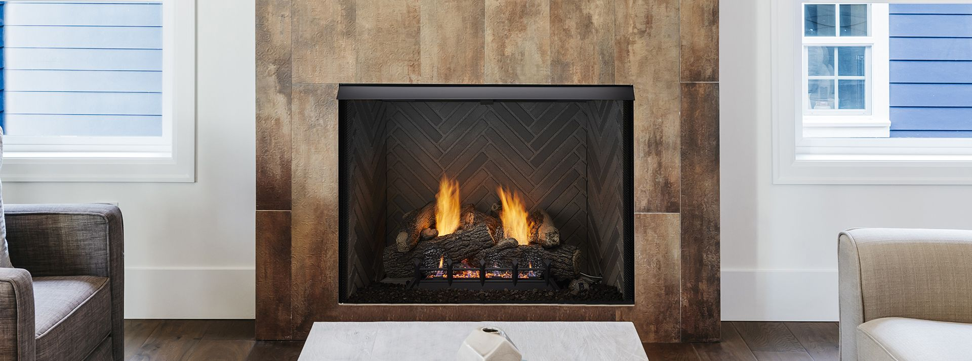 LoRider Vent Free Gas Fireboxes Monessen Hearth Tall