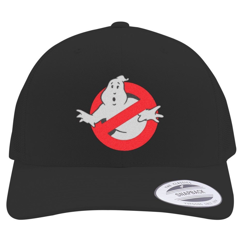 Ghostbusters Retro Embroidered Trucker Hat