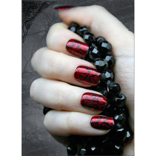 Gothic Nails Any Ideas Salon Geek Wear This