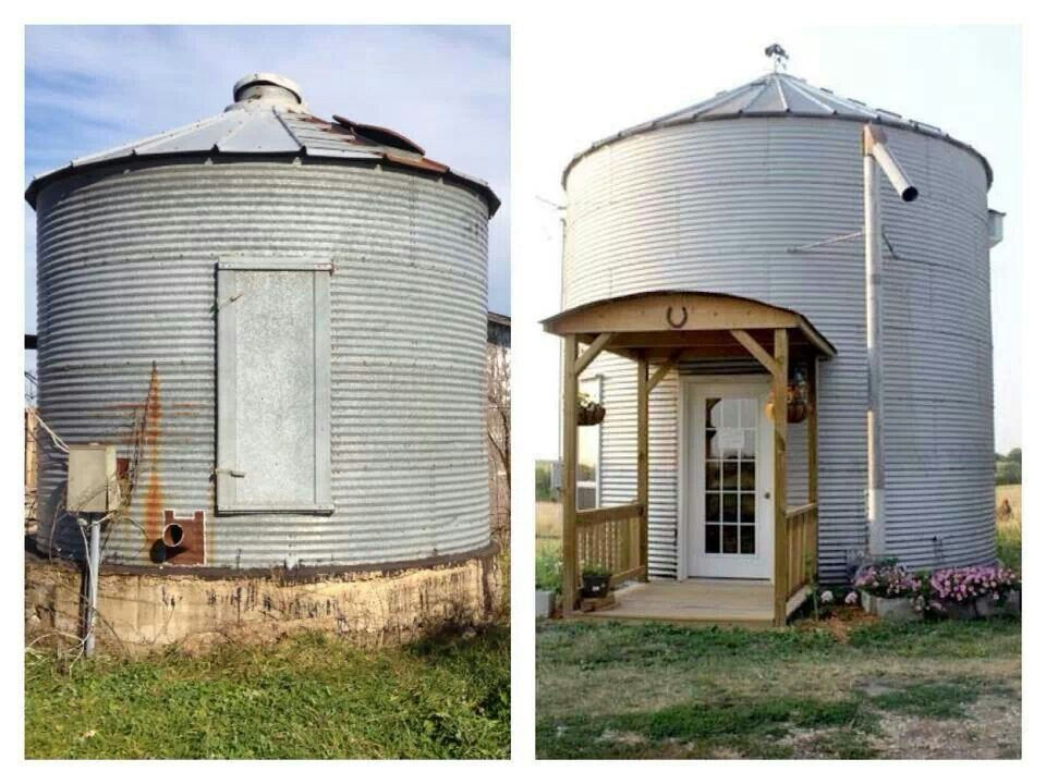Pin by Aleah Wiese on Farm life Silo house, Architecture