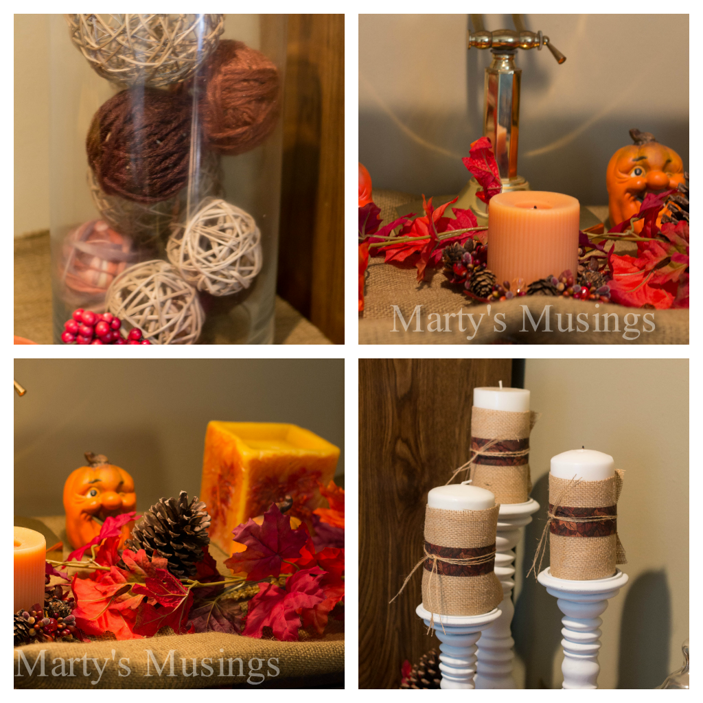 Fall decorating on a budget - Easy Fall Home Decor Decorating On A Budgetfall