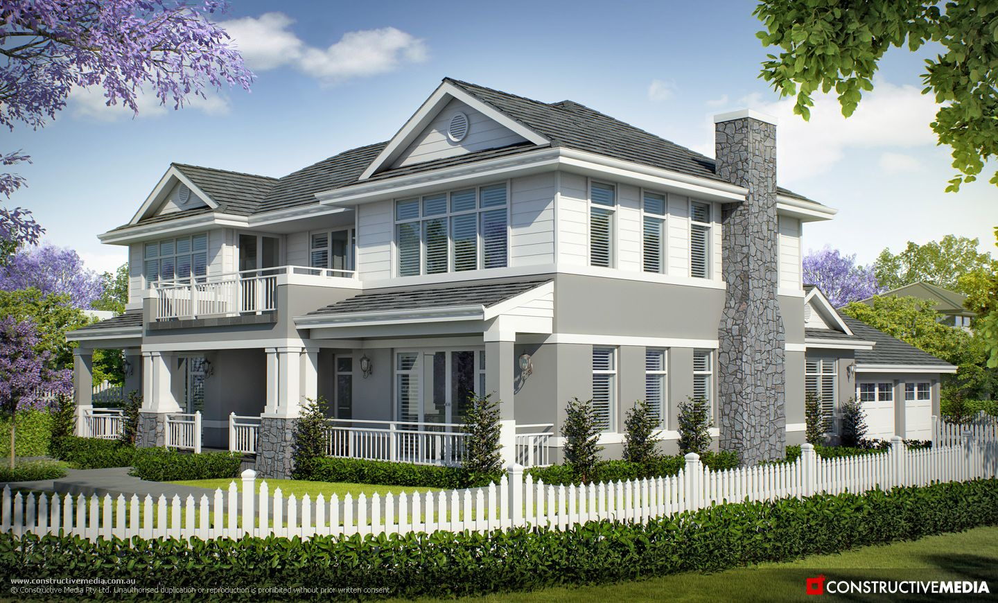 The Long Island by Oswald Homes (3D Visual by Constructive Media ...