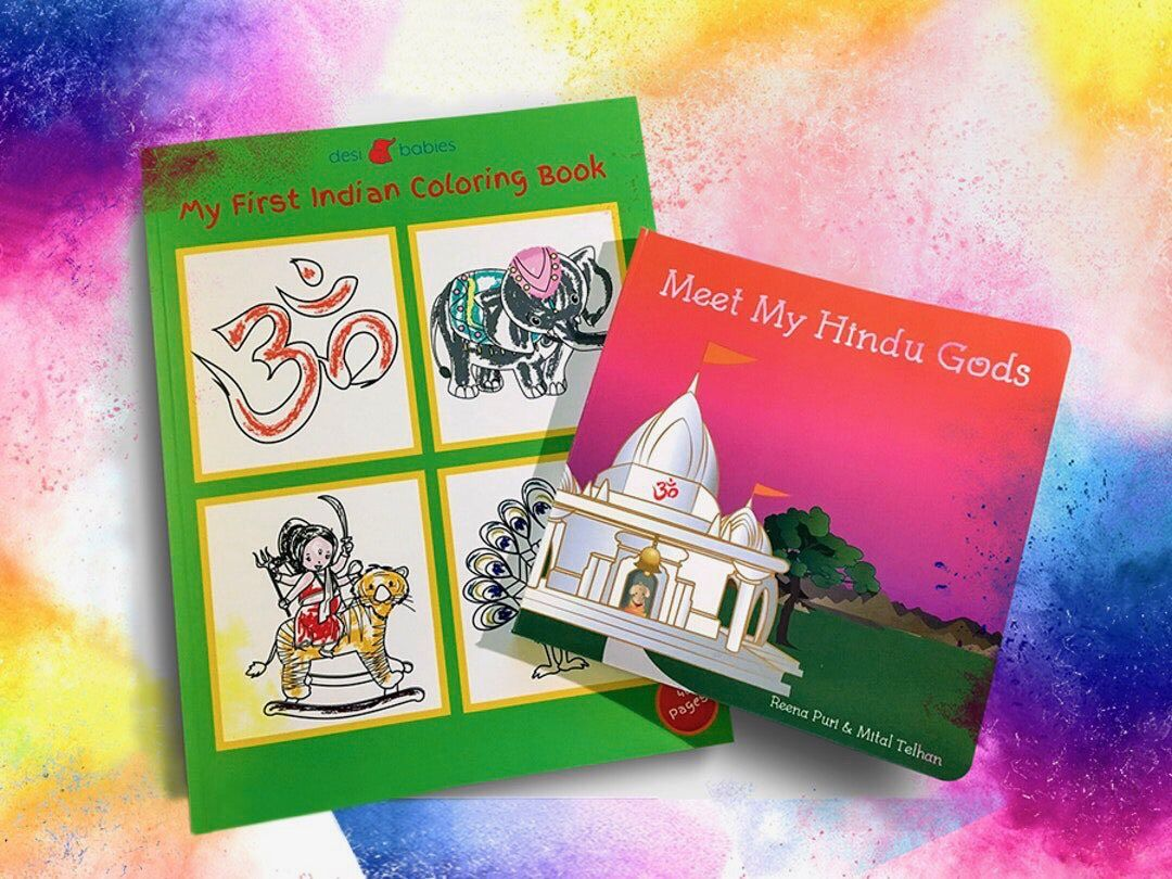 Holi hai holi special free coloring book with mmhg purchase