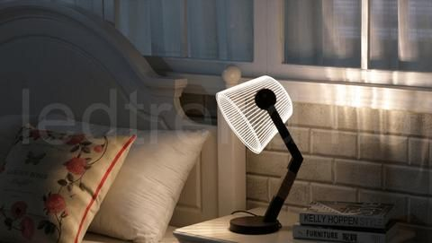 3d Lampe Med Led Lys I 2020 Lys Nattlys Og Lamper