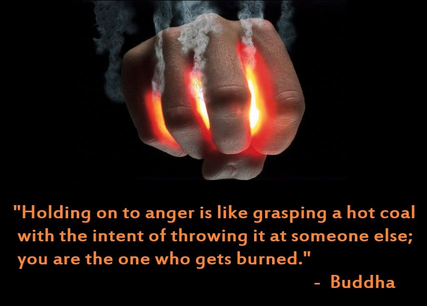 Holding on to anger anger quotes anger let go of anger
