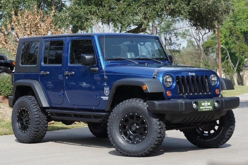 2009 Deep Water Blue Jeep Wrangler Unlimited 21995 Jeep Wrangler Unlimited Jeep Wrangler 2009 Jeep Wrangler