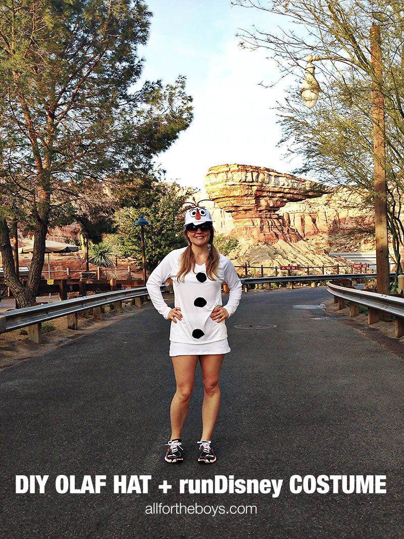 Possibly this year's Halloween Costume...DIY Olaf hat and ...