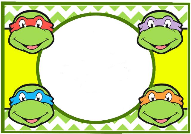 Pin de Dulce en G | Pinterest | Cumpleaños tortugas ninja, Ninja y ...