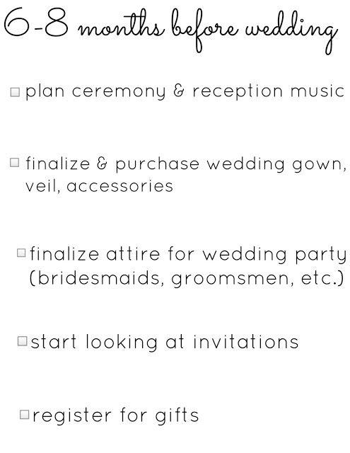 Borrowed Blue Wedding Planning Checklists
