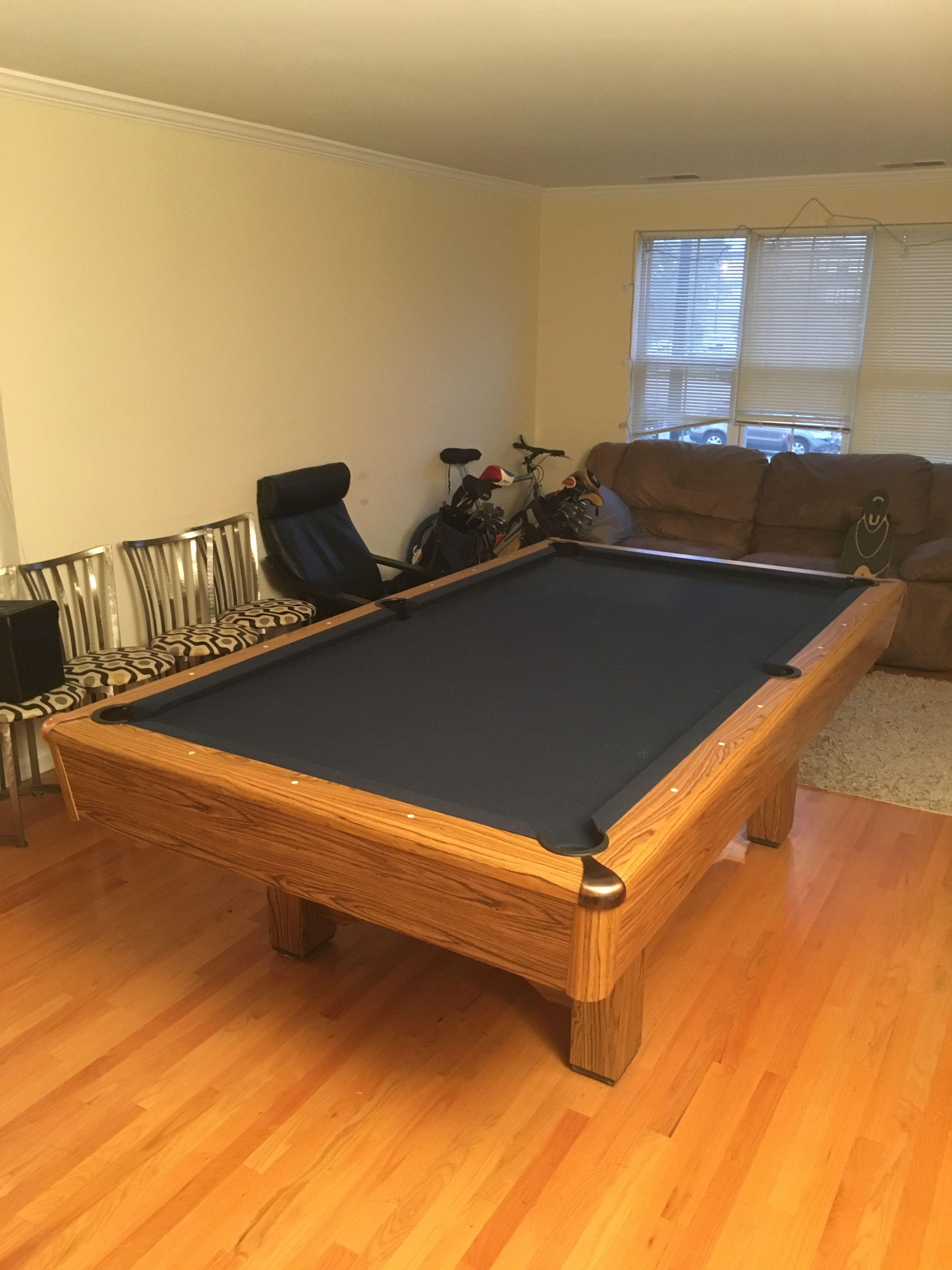 Imperial International Player Pool Table Sold Used Pool