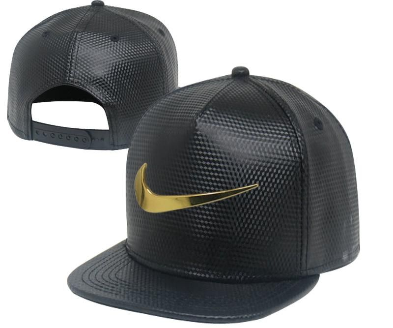 1b4a930659e Men s Nike Jumbo Gold Metal Heritage Swoosh Logo Faux Leather Baseball  Snapback… Find this Pin and more on Hats ...