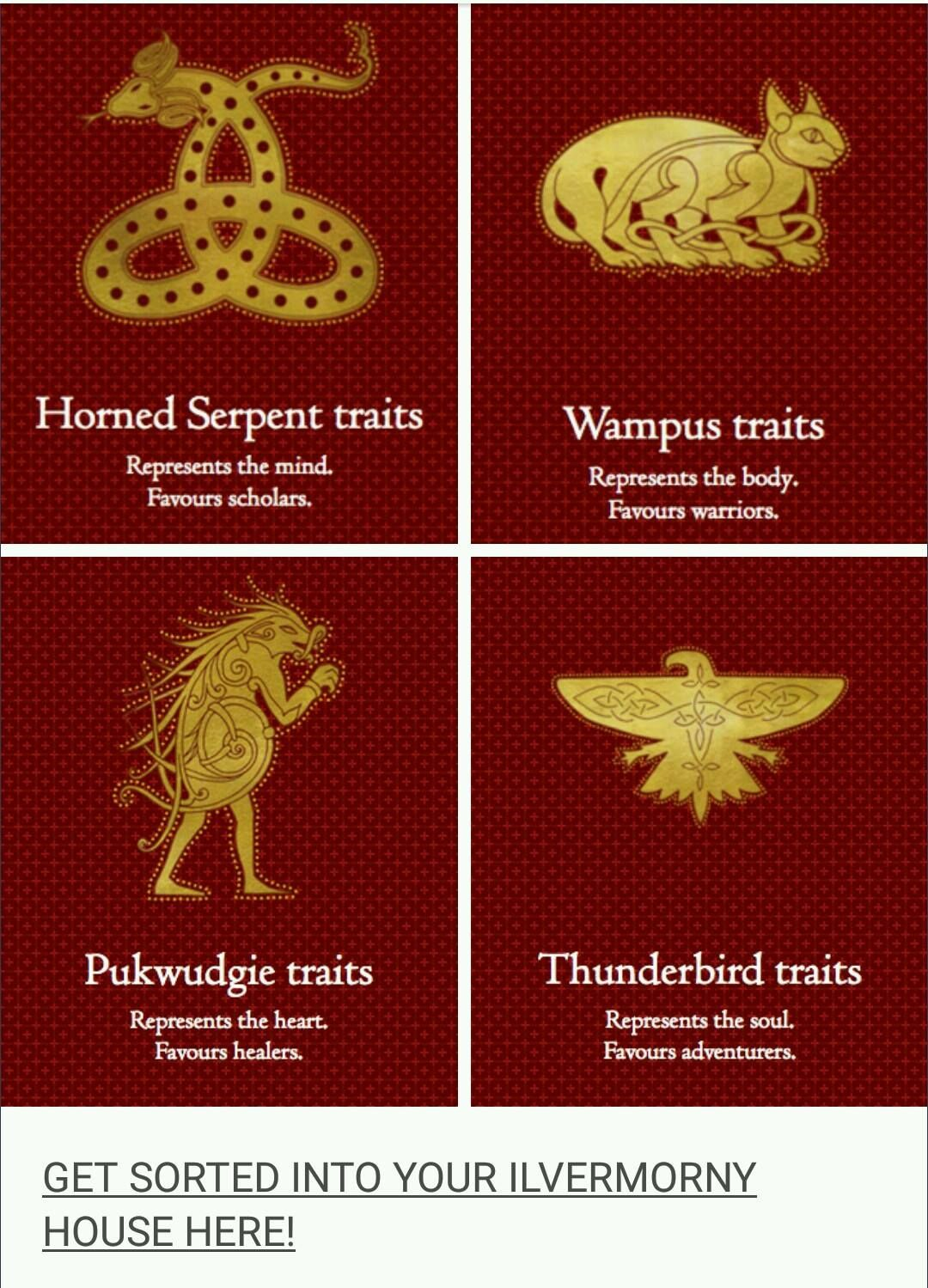 I M A Thunderbird Wizarding World Harry Potter