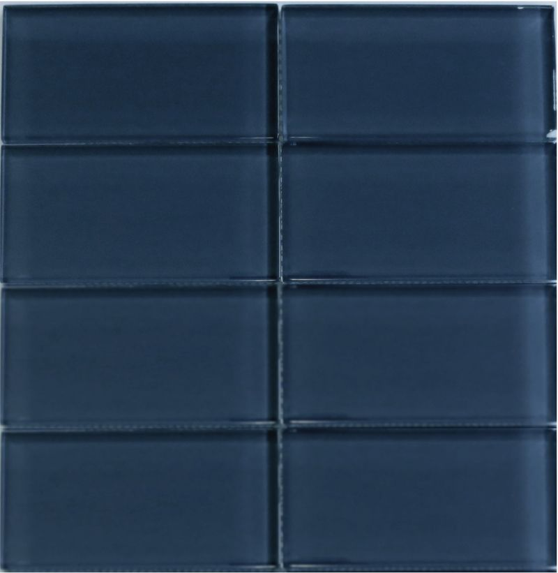 Subway Tiles For Kitchen Backsplash And Bathroom Tile In Dark Blue