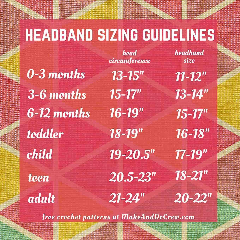 Crochet Headband For Baby Pattern Free Free Crochet Headband Pattern Ba Adult Sizes