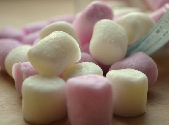 Mini Marshmallow Soap  Vegan Candy Soap by ajsweetsoap on Etsy