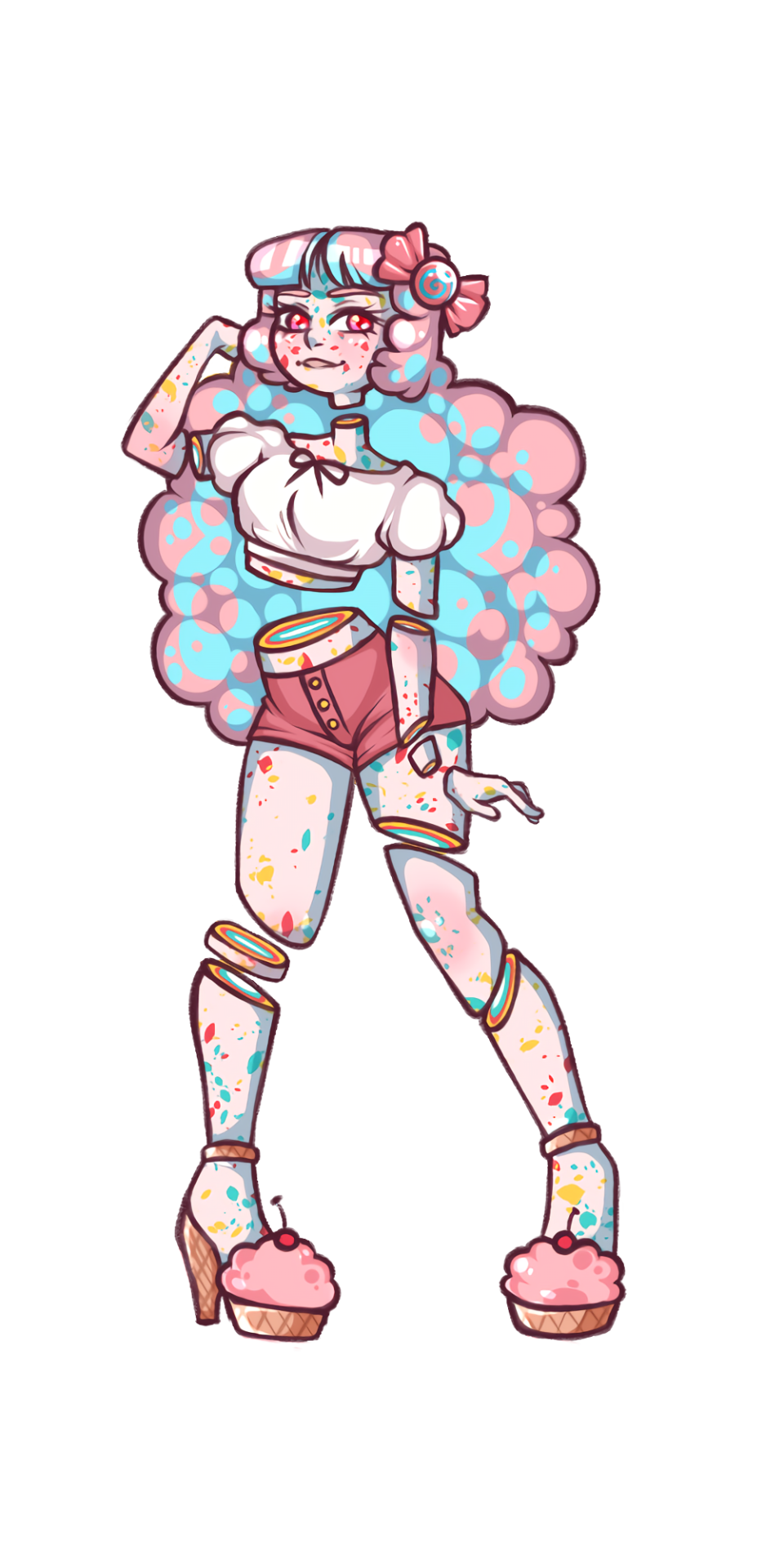 Candy Skin People Are My Favorite To Draw I Did Not Draw This One Though Who S The Artist Cute Drawings Cartoon Art Cute Art 'candy gore' is actually a type of art (look it up, it's pretty darn cool), where instead of blood and guts, it's candy or stars! pinterest