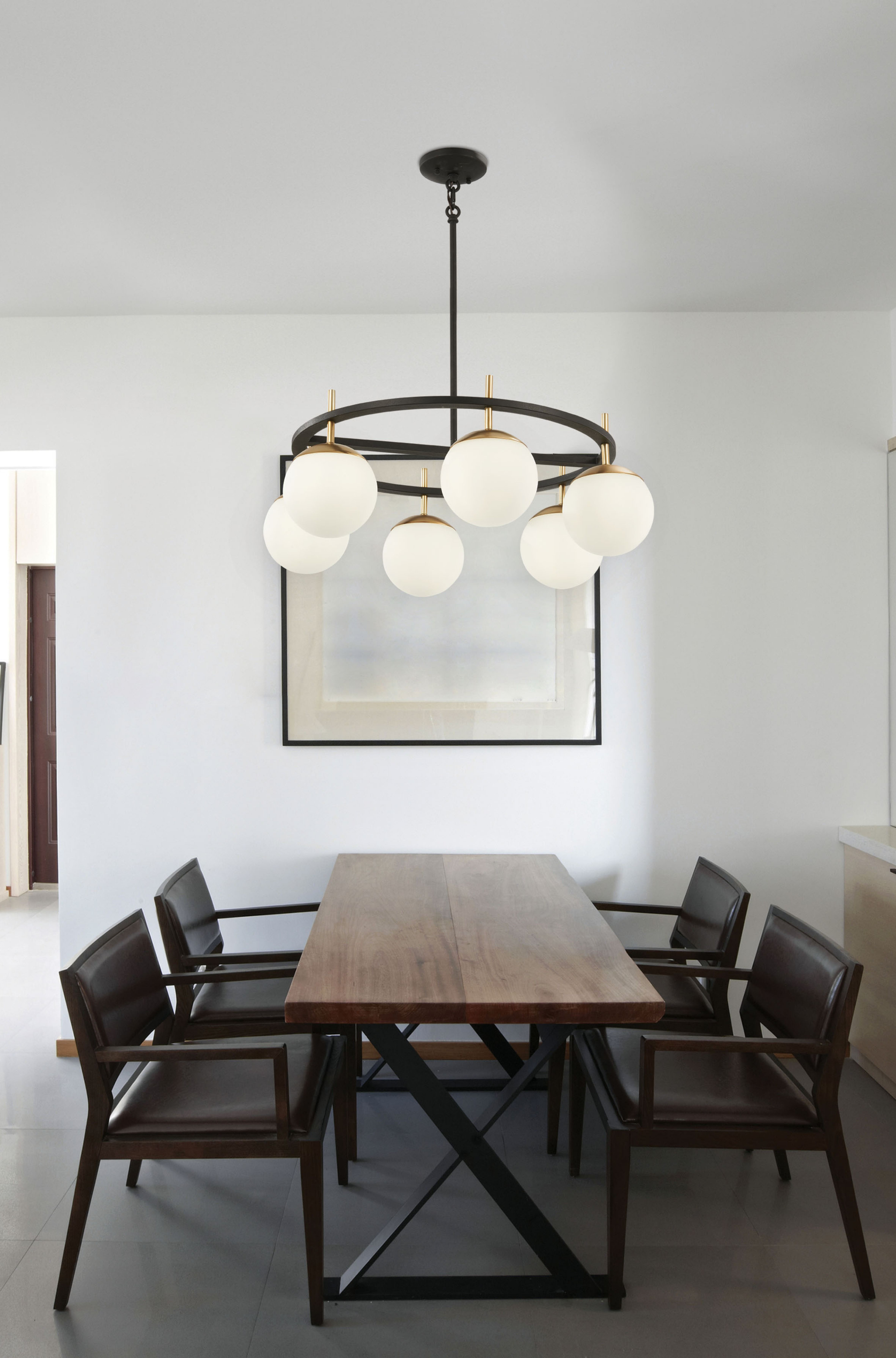 Alluria Pendant By George Kovacs P1356 618 Dining Room Spaces Classic Dining Room Minimalist Dining Room