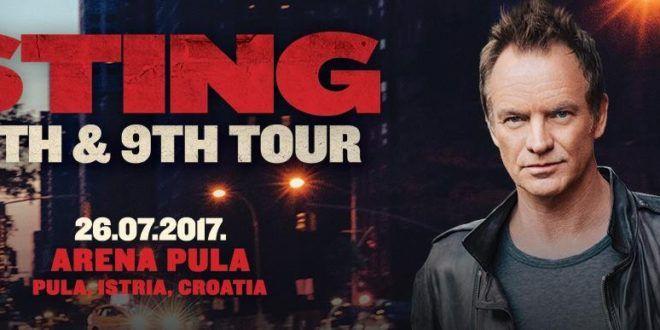 Konzerte im Amphitheater Pula 2017 – Sting am 26.7. - In Istrien