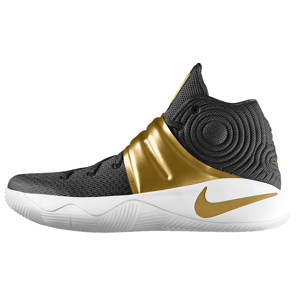 check out f2f76 d2157 Nike Kyrie 2 iD Men's Basketball Shoe Size 11.5 (Gold ...