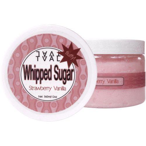 TVÅL Whipped Sugar Body Scrub, Strawberry Vanilla